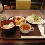 大阪 新阪急ホテルに泊まる。大阪駅から凄く近くバイキングのあるホテル。