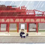 Googleロゴ「芥川龍之介」生誕121周年