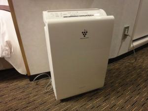 大阪第一ホテル空気清浄機